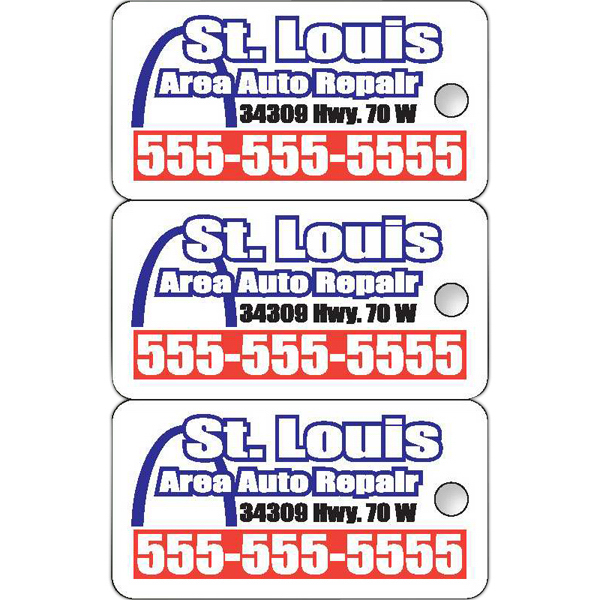 Promotional Deluxe Loyalty Key Tags