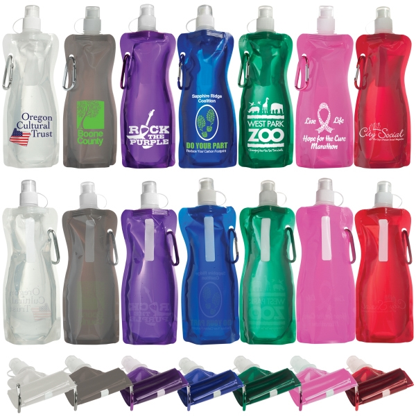 Customized Bend A Bottle With Carabiner