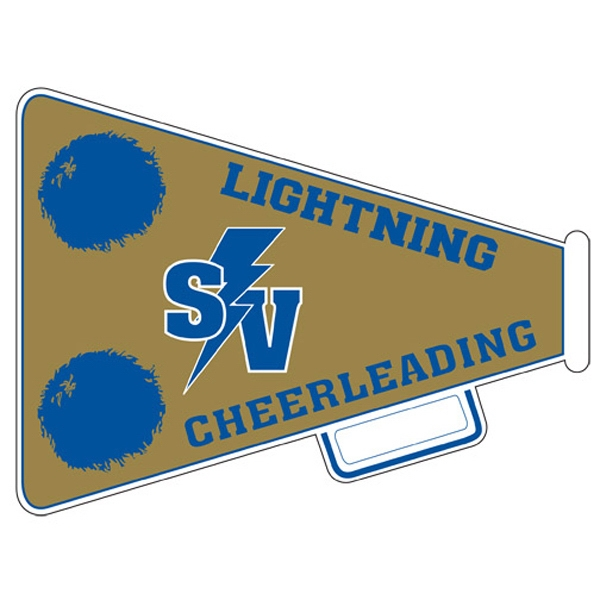 Imprinted Outdoor Magnet