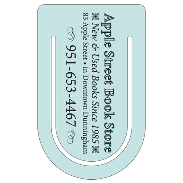 Promotional Plastic Bookmark