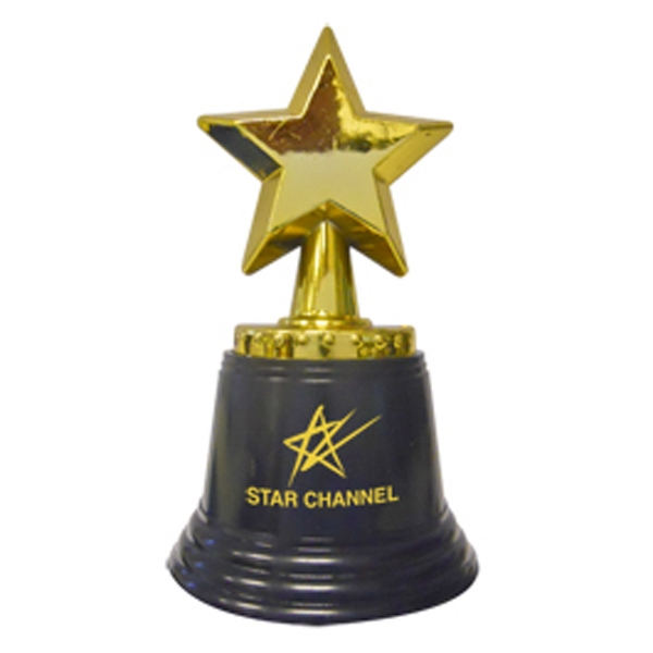 "Promotional 4 1/2"" Tall Star Trophy"