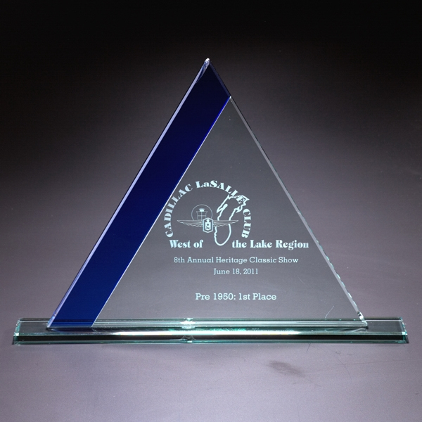 Personalized Ascend Large Glass Award