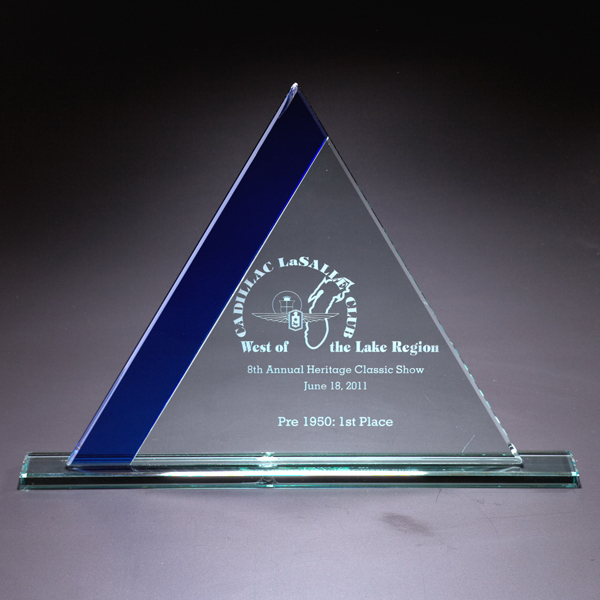 Customized Ascend Small Glass Award