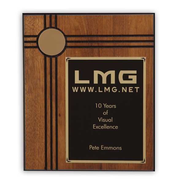 Personalized Derby Large Plaque Award