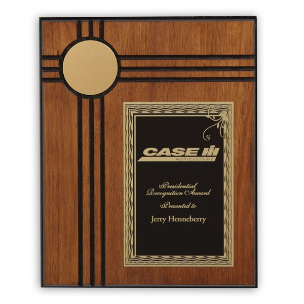 Custom Derby Medium Plaque Award