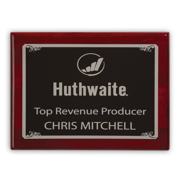 Custom Fairfield Large Plaque Award