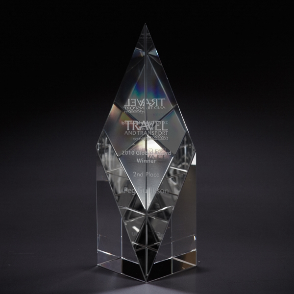 Personalized Pure Medium Optically Perfect Award