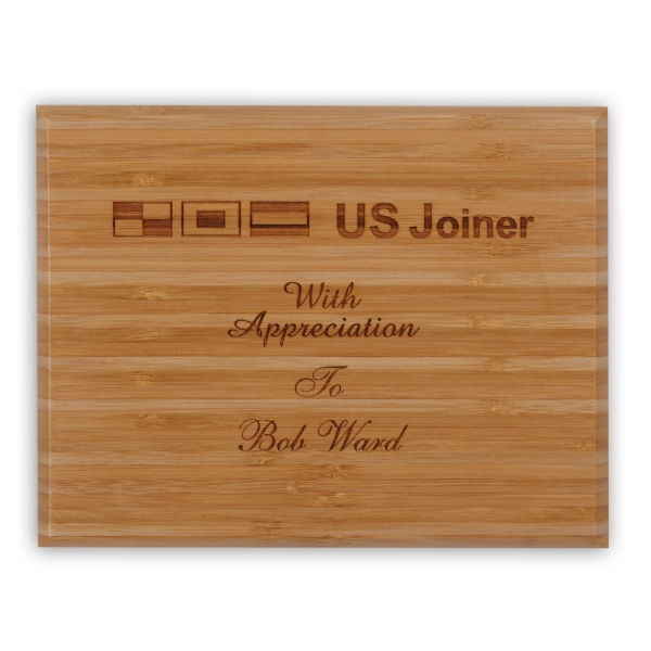 Personalized Renewal Medium Plaque Award