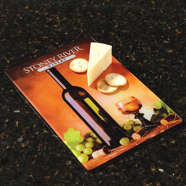 Promotional Full Color Glass Cutting Board