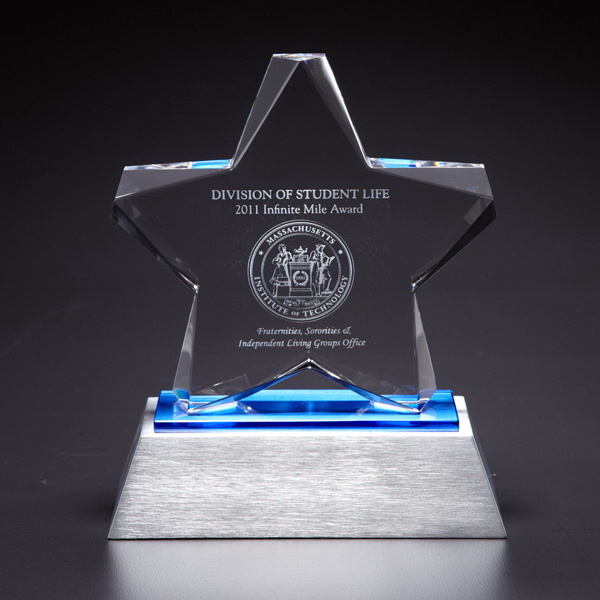 Custom Estrella Optically Perfect Award