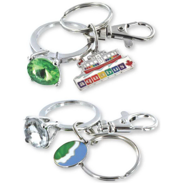 Customized Bling Ring Key Ring