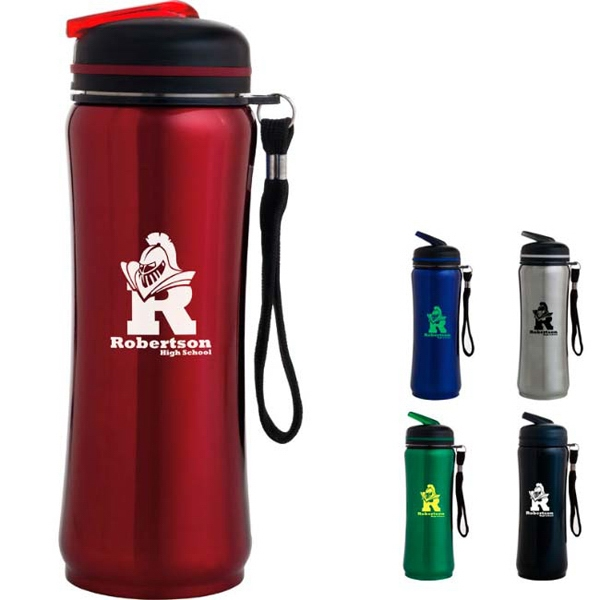 Imprinted Contemporary Sport Bottle - 26 oz
