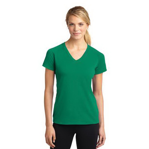 Promotional Sport-Tek Ladies' Ultimate Performance V-Neck