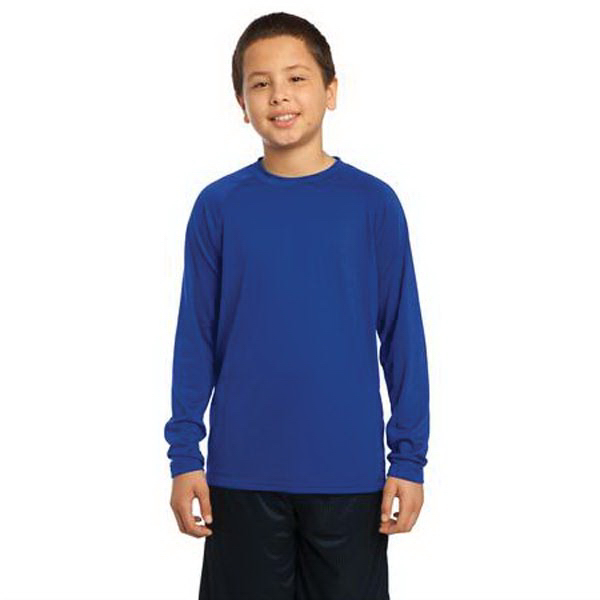 Customized Sport-Tek (R) Youth Long Sleeve Ultimate Performance Crew