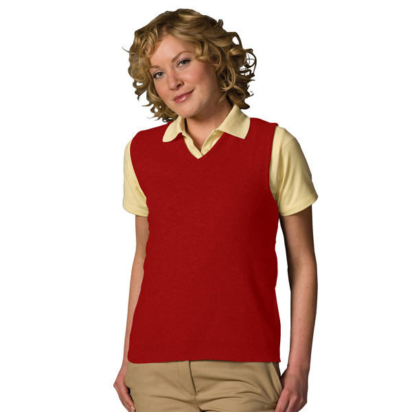 Promotional Women's Cotton V-Neck Vest