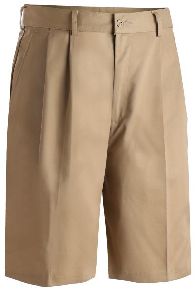 "Custom Men's Utility Pleated Shorts 9"" Inseam"