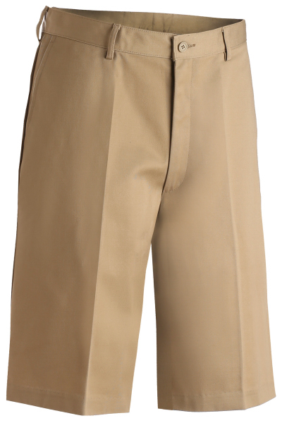 Personalized Men's Flat Front Chino Shorts