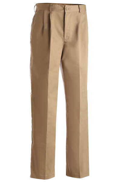 Custom Men's All Cotton Pleated Pants