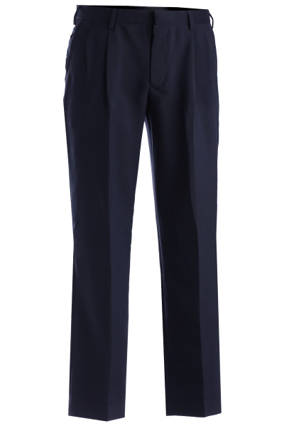 Printed Men's Polyester Pleated Pants