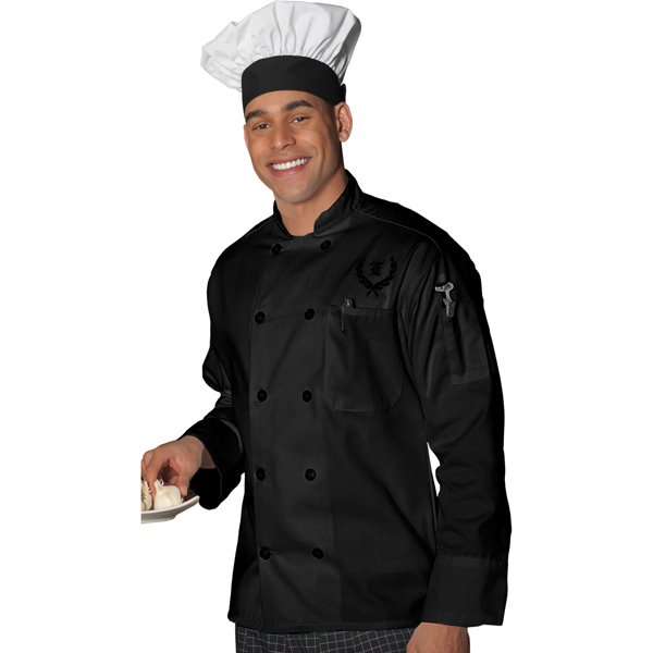 Customized 10 Pearl Button Chef Coat