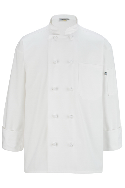 Promotional Classic 10 Knot Button Chef Coat