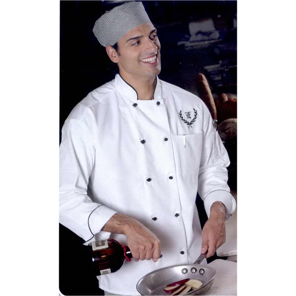 Personalized Ten button full cut chef coat
