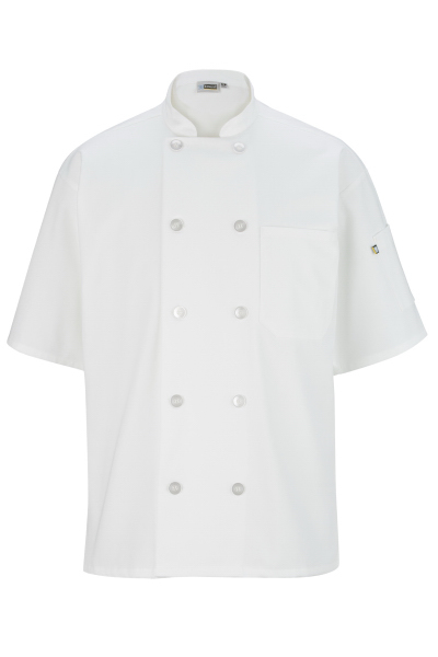 Promotional Casual 10 Button Short Sleeve Chef Coat