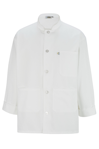 Personalized Single Breasted Server Coat