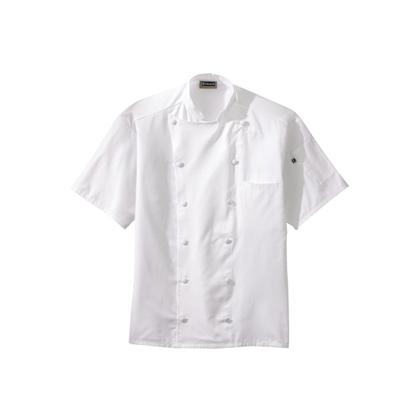 Promotional Lightweight Short Sleeve Chef Coat