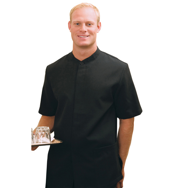 Promotional Men's Hidden Placket Solid Tunic