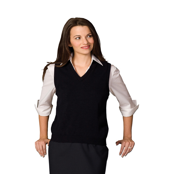 Customized Women's V-neck Vest with Tuff-Pil (R) Plus