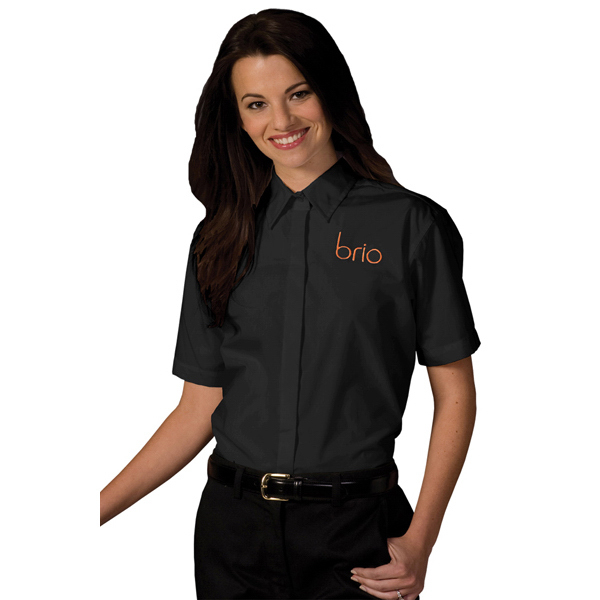 Custom Women's Short Sleeve Cafe Shirt