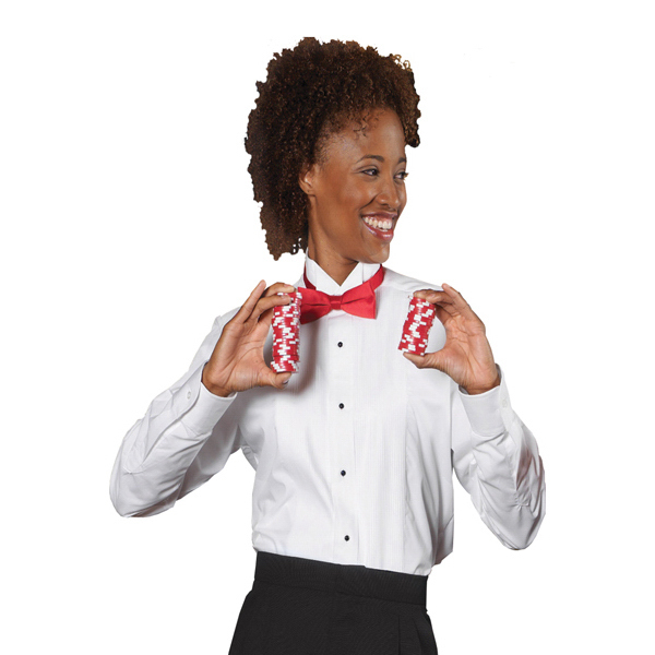 Customized Women's tuxedo shirt