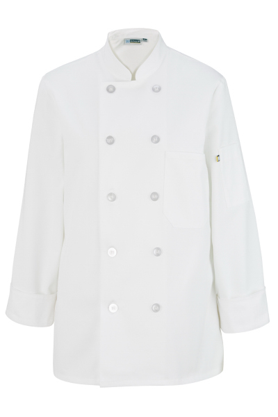 Custom Women's Casual 10 Button Chef Coat