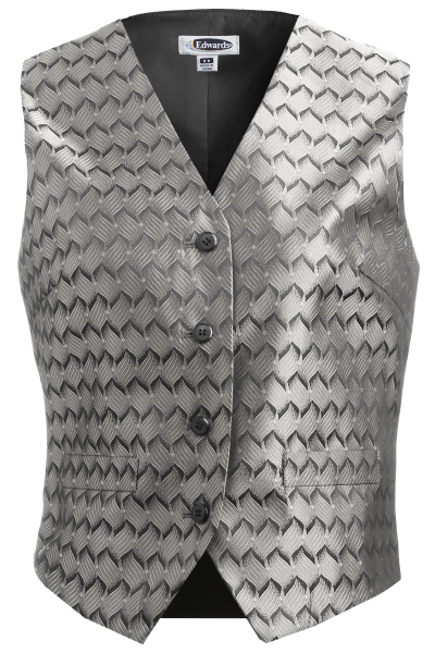 Customized Women's Swirl Brocade Vest