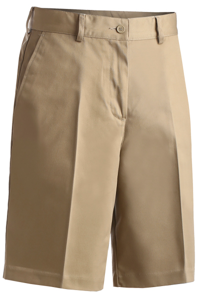"Personalized Women's Utility Flat Front Shorts 9/9.5"" Inseam"