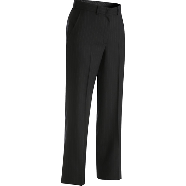 Customized Women's Pinstripe Flat Front Pants