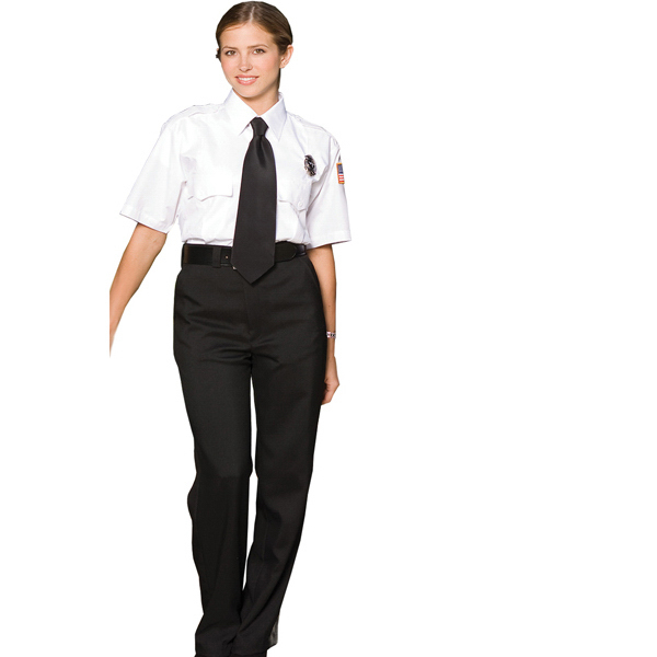 Promotional Women's Flat Front Security Pants