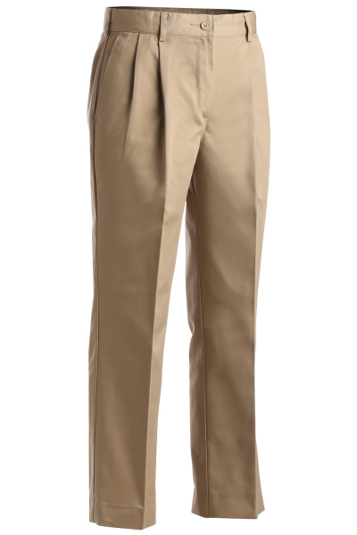 Imprinted Women's Utility Pleated Pants