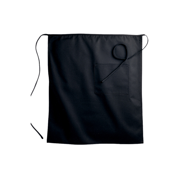 Printed Bistro Apron with One Pocket