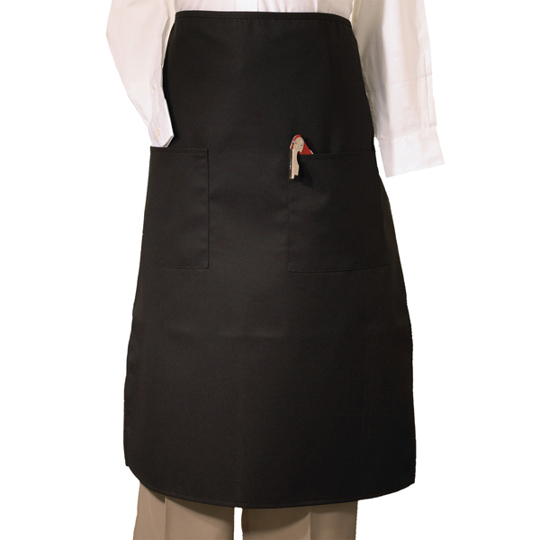 Custom Bistro Apron with Two Pockets