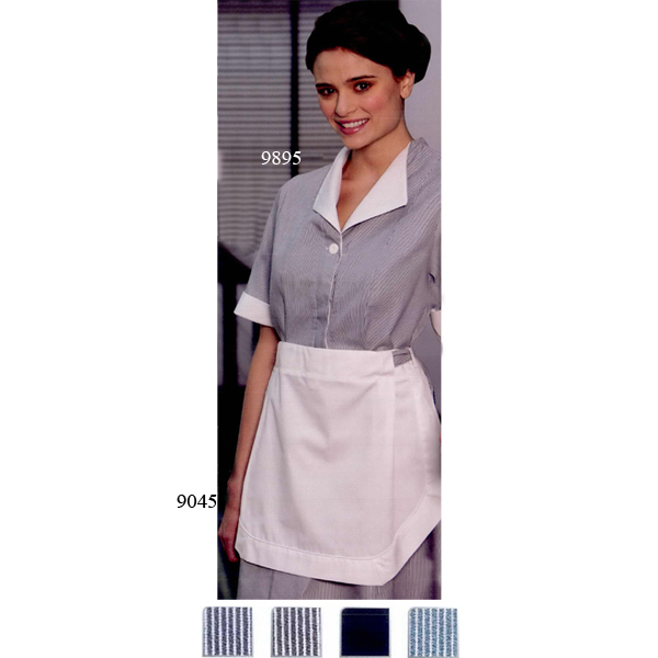 Imprinted Tea Apron for Housekeeping Dress
