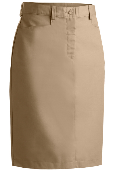 "Customized Women's Chino Skirt Medium 25"" Length"