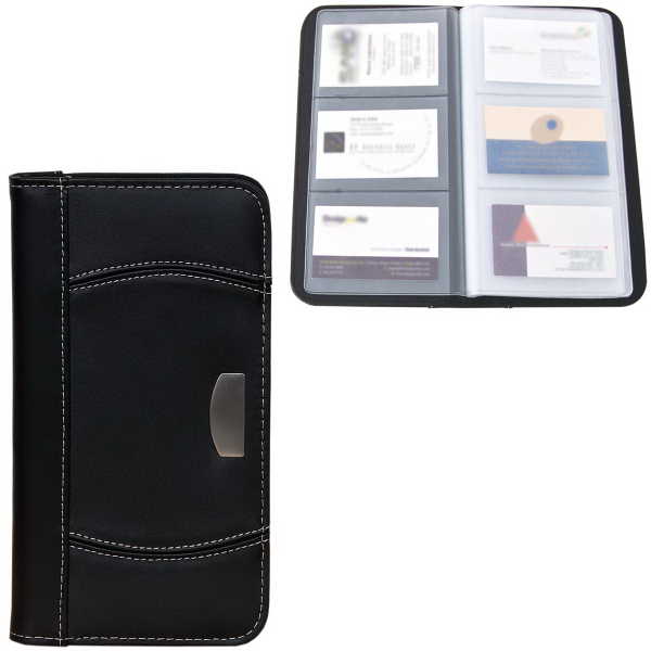 Imprinted Business Card Holder