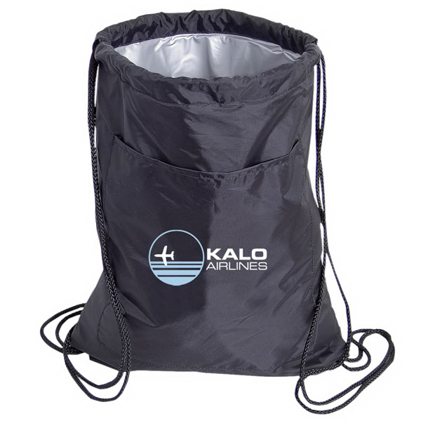 Custom Insulated Drawstring Knapsack