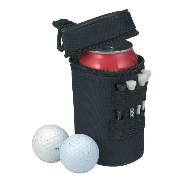 Imprinted One Can Golf Cooler Bag