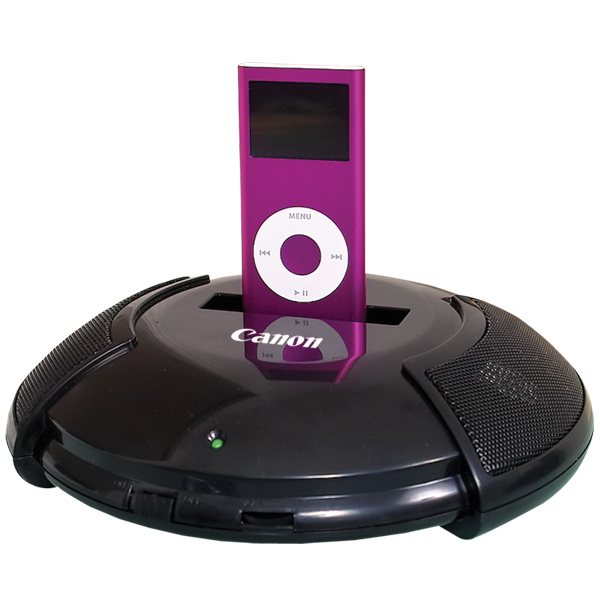 Imprinted Docking Station - Speaker System