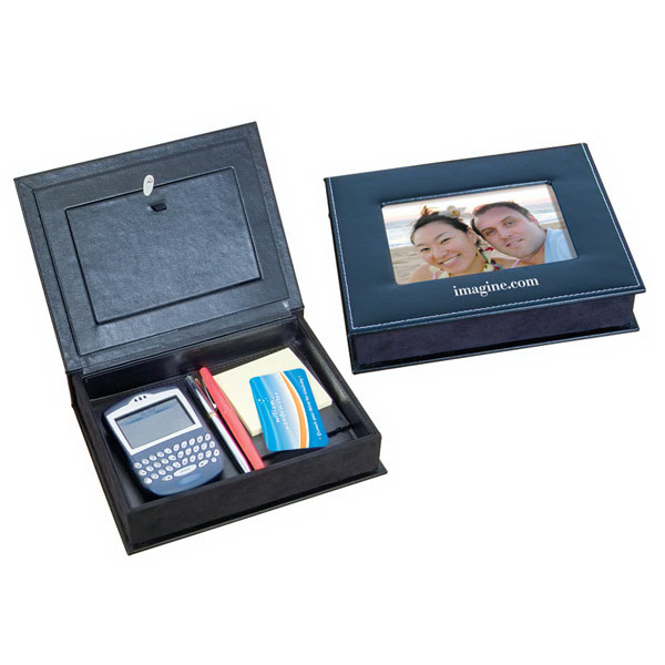 Imprinted Desk Accessory Box