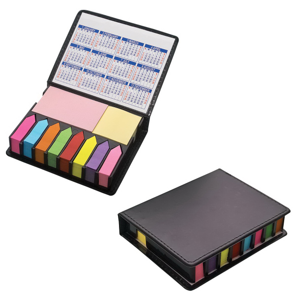 Imprinted 2000 Sticky Note / Flag Organizer