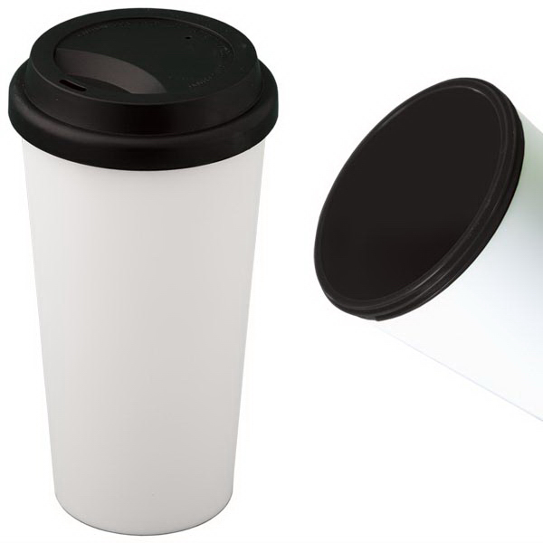 Promotional 500 ML (16 oz.) Mighty Plastic Mug